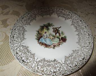 USA LIMOGES ROMANCE Plate