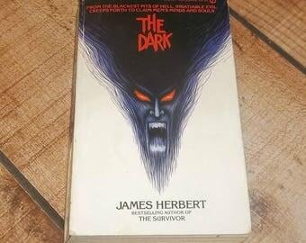THE DARK Satanic Gore Horror James Herbert 1980 Paperback Book