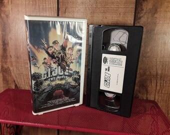 G.I. JOE The Movie Vhs Video Cassette Rhino Kids Don Johnson Sgt. Slaughter WWF GI Joe, Clamshell Case