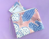 Cactus Make Up Bag | Cosmetic Bag | Fabric Zip Purse | Pencil Case | Toiletry Wash Bag| Gifts For Her | Birthday Gift Ideas | Christmas Gift