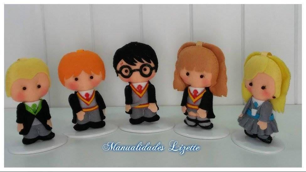 Kit harry potter fieltro hecho a mano hogwarts decoraci n - Manualidades para adultos ...