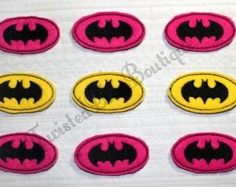 Set Of 9 Batman Felties
