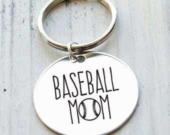 Basketball Mom Personalized Key Chain - Engraved
