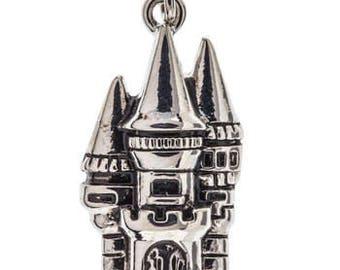 Fairy Tale Castle Metal Charm