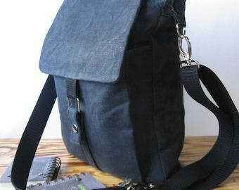 Waxed Canvas Bag, Canvas Crossbody Bag, Canvas Handbags, iPad Bag, Canvas Shoulder Bag, Vegan Waxed Canvas Bag, Waxed Canvas Crossbody Bag