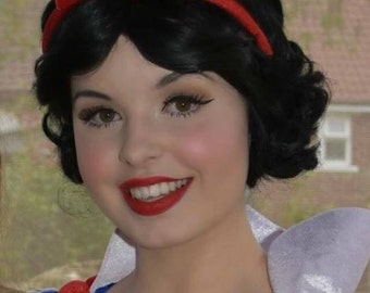 Snow White Inspired Wig
