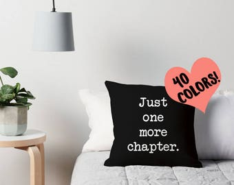 Reading Pillow, Book Lover, Reading Quotes, Book Quote Art, Reading Throw Pillow, Book Lover Pillow, Book Pillow Cover, Book Art, Reading