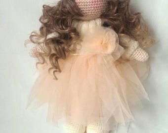 Tilda doll, Crochet Doll, Amigurumi Tilda, Crochet Tilda Doll, Doll Amigurumi, Doll Toy, Free shipping