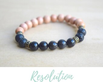 Obsidian Bracelet / protective gemstones, protection amulet, healing, negativity shield, protective stones, yoga gift for mom