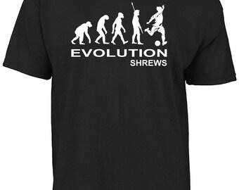 Shrewsbury  - Evolution Shrews t-shirt