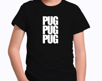 Pug three words Children T-Shirt