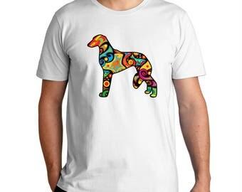 Psychedelic Saluki T-Shirt