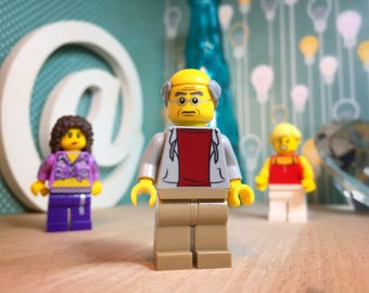 Larry David Curb Your Enthusiasm Lego Gift Figure