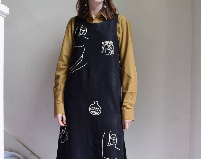 Wilson Sleeveless Black Tencel Pocket Dress.