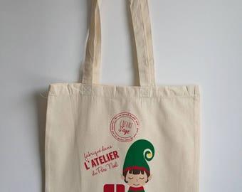 Hood customizable name / Tote Bag