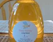 Raw Long Island Wildflower Honey ( pkg. of 2- 1 lb. jars )