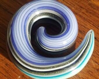 line tube swirl pendant