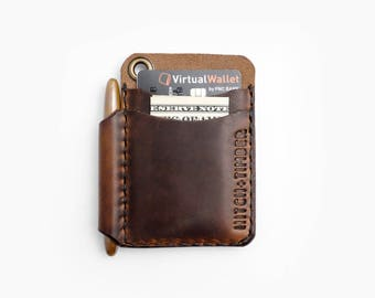 """The """"Scrawllet"""" - Leather EDC Wallet for Everyday Carry"""