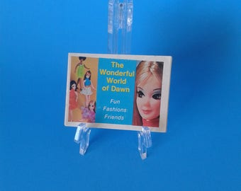 "Dawn Doll "" 6"" Mod Doll Booklet 1st Issue "" 1970's Topper Toys"