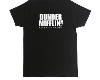 Dunder Mifflin Paper Co. The Office T-Shirt- Michael Scott- Jim Halpert- Dwight Shrute- The Office T-Shirt