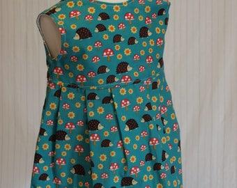 Girls dress, Handmade dress, Vintage style dress, Girls clothing, Kids clothing, Summer wear, The primrose dress