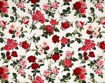 Rose Garden Cream / custom fabric