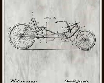 Jarvis Bicycle Patent #690773 dated by January 7, 1902.