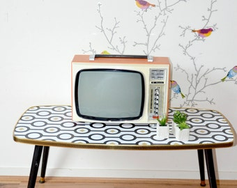 Vintage data, Orange, TV, television TV