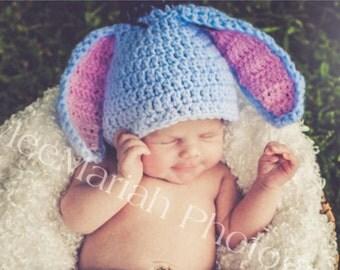Eeyore Baby Hat/ Photo Prop