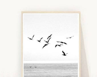 Coastal Art, Printable Art, Sea Photo, Coastal decor, Instant Download,Modern Wall Art, Home Decor, Wall Decor