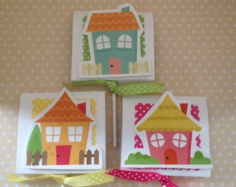 Cute Houses, New Home, Welcome to the Neighborhood Party Lollipop Favors - Set of 10