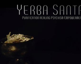 Organic Yerba Santa  1 Oz | Dried Yerba Santa | Dried Herbs