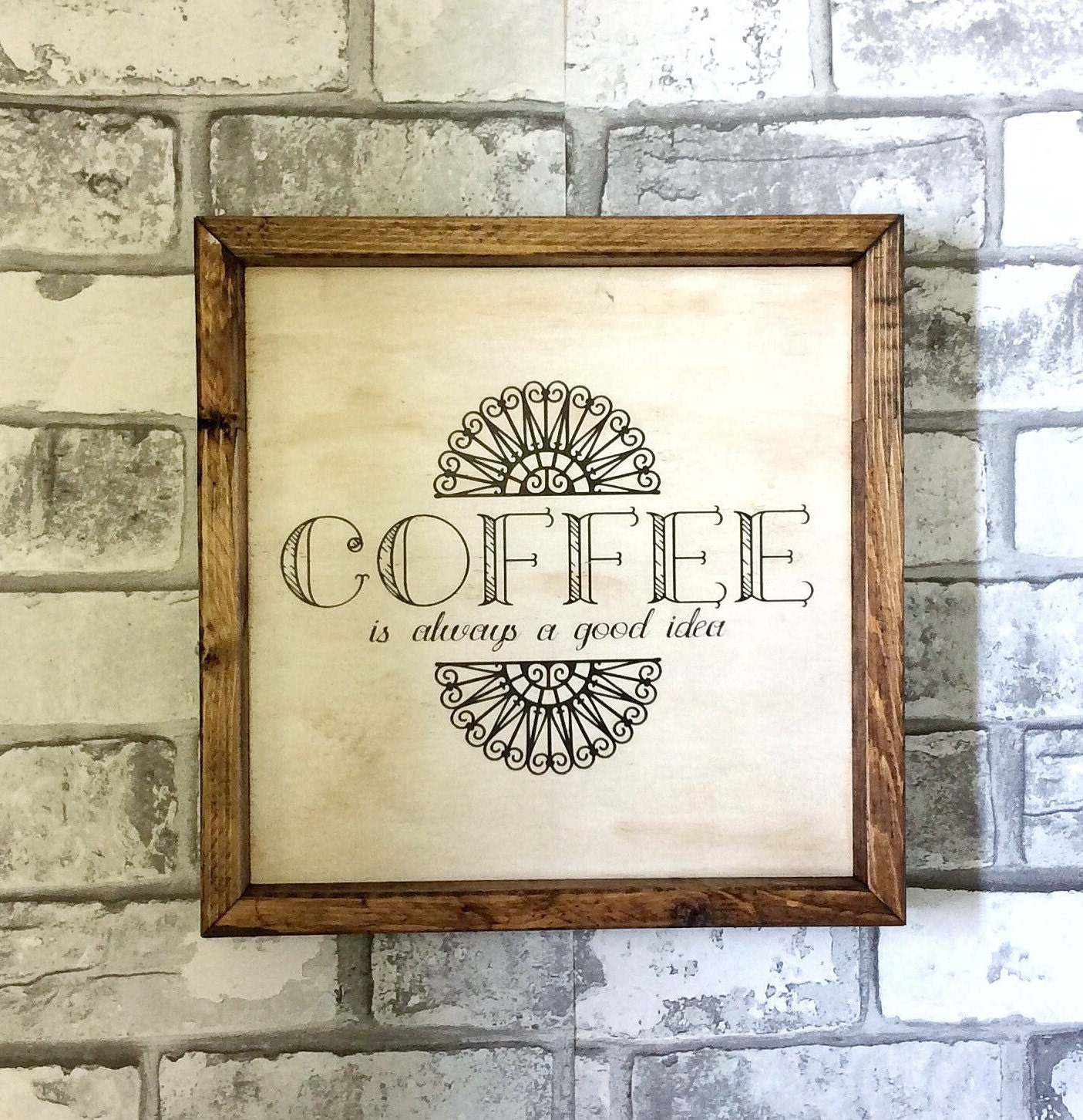 Coffee Sign/ Coffee Wall Decor, Coffee Decor, Wood Dign, Wooden Sign,