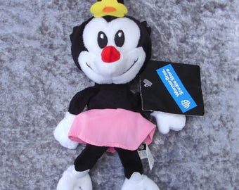 Rare 1990's Animaniacs Dot Beanbag Plush