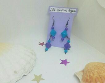 Set of 2 pairs of earrings