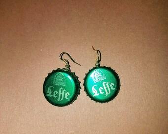 Capsule LEFFE green earrings