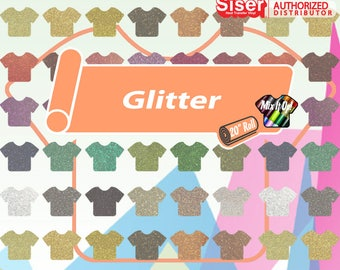 "Siser Glitter 20"" - Select Colors and Length!"