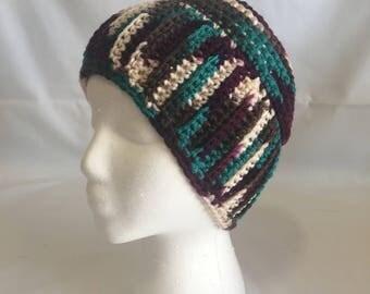 Crochet Beanie - Multi