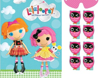 Lalaloopsy Pin the Owl Party Game