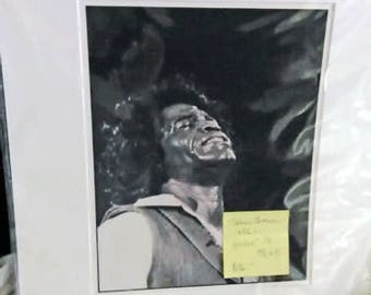 James Brown by Nona Hatay c1982 c2017