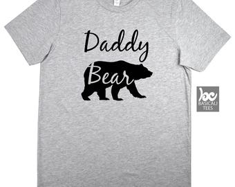 Daddy Bear Shirt - Soft Cotton T-Shirt - Unisex Tee - Gift for Dads -Guy Shirt,Dad Gifts