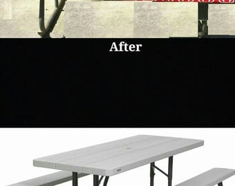 Picnic Table Etsy