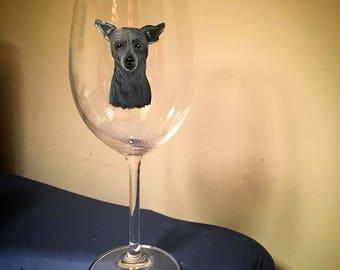 Custom Individual Hand Painted Wine Glasses