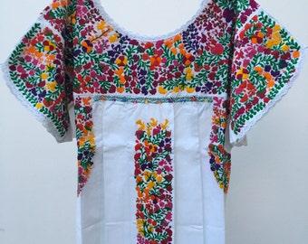 Otomiartesanal , San Antonino Huipil Dress