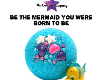 Be The Mermaid You Were Born to Be Surprise Toy Bath Bomb