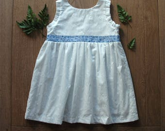 Little dress of ceremony - Broderie anglaise