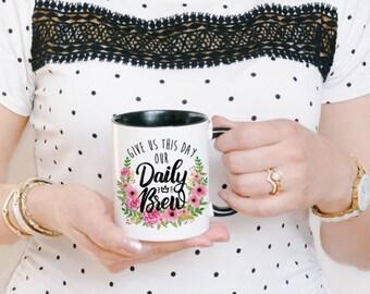 Verse Coffee Mug - Funny Coworker Mug - Funny Christian Mug - Mom Coffee Mug - Coworker Coffee Mug - Funny Coffee Mug - Funny Pun Mug