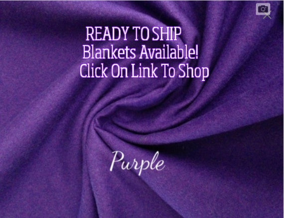 Solid Color, Weighted Blanket, Purple, Up to Twin Size 3 to 15 Pounds.  SPD, Autism, Weighted Blanket.