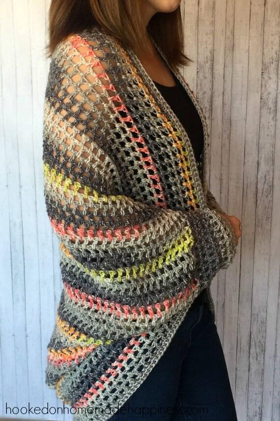 Cocoon Sweater Crochet Pattern Easy Crochet Pattern