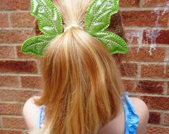 Fairy Wings Bun Pal / Pony Tail Pal - Hair Accessory - Hair Clip - Barrette - Fascinator - Hair Slide - Hair Grips - Wings - Faery Wing